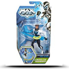 Max Steel Boomerang Blast Action Figure