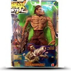 Max Steel Enemy Bioconstrictor 10 Inches