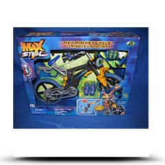 Max Steel MX4 Rocket Cycle And Missile