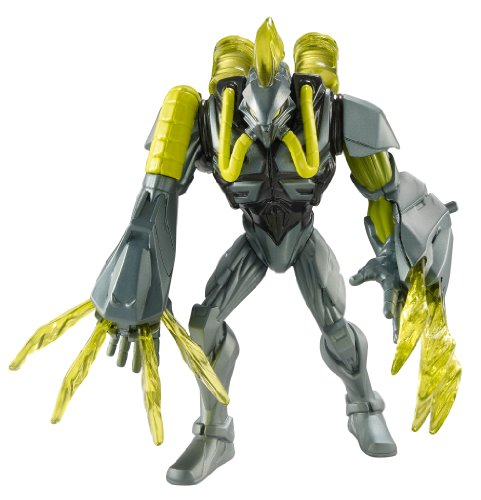 Max Steel Spider Claw Toxzon Action Figure Vs