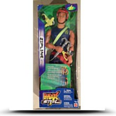 Buy Max Steel Zipline Action Figure