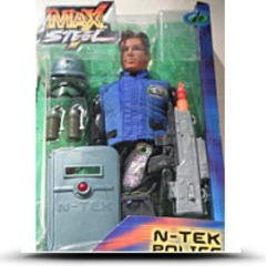 Max Steel 12 Ntek Police Rescue Action