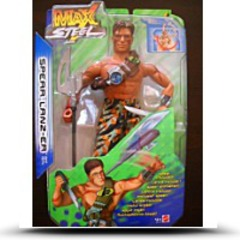 Buy Max Steel 12 Spear Lanzer Action Figure