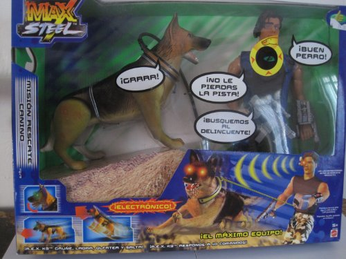 Mision Rescate Canino Max Steel Action Figures And Toys