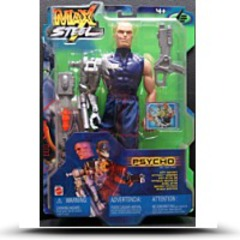 Psycho Super Action Figure With Secret