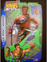 Max Steel 12 Spear Lanzer Action Figure